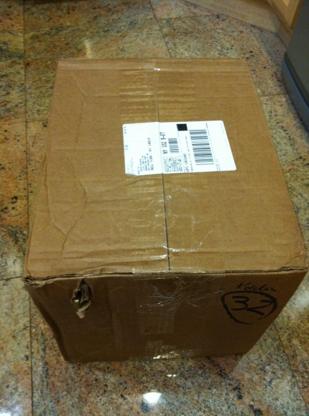 Image 002 Package as it arrived from UPS